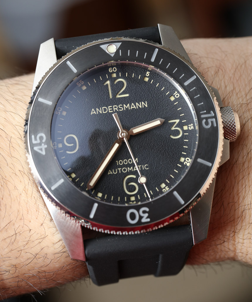 High Quality Andersmann Oceanmaster II 1000m Dive Watch