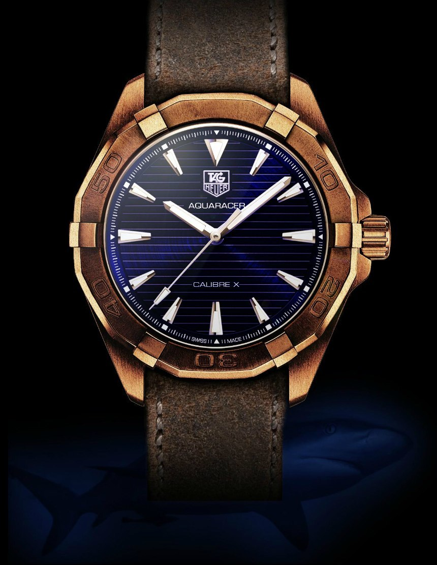 Iconic Dive Watches In Bronze