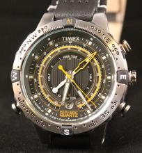 Timex Perpetual Calendar & Intelligent Quartz Tide Temp Compass Watch