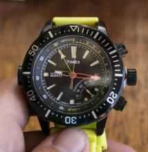 Timex T2N958 Depth Gauge dive watch